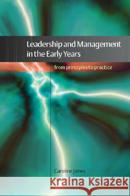 leadership in the early yearsr Summary this outline explores distributed approaches to leadership in the context of childcare and early years settings it provides some.