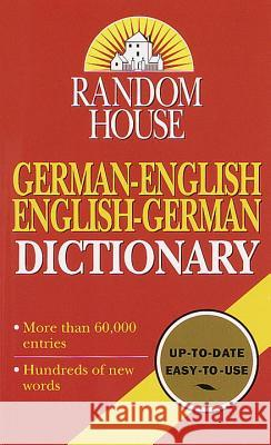 German-English Dictionary Anne Dahl 9780345414397