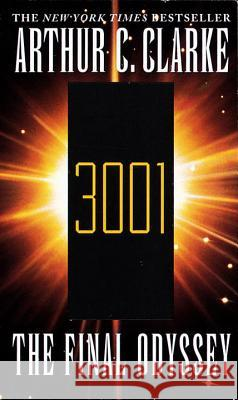 3001 the Final Odyssey Arthur Charles Clarke 9780345423498 Del Rey Books