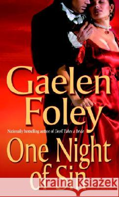 One Night of Sin Gaelen Foley 9780345480095