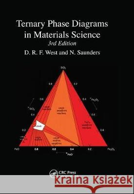 Ternary Phase Diagrams in Materials Science D. R. F. West   9780367447083