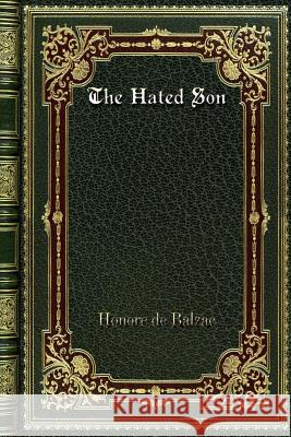 The Hated Son Honore D 9780368292460