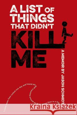 A List of Things That Didn't Kill Me: A Memoir Jason Schmidt 9780374380137