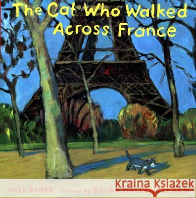 The Cat Who Walked Across France: A Picture Book Kate Banks Georg Hallensleben 9780374399689