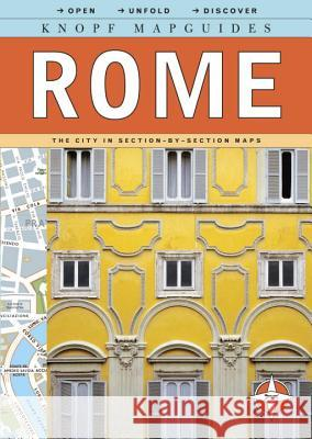 Knopf Mapguide Rome Knopf Guides 9780375711008