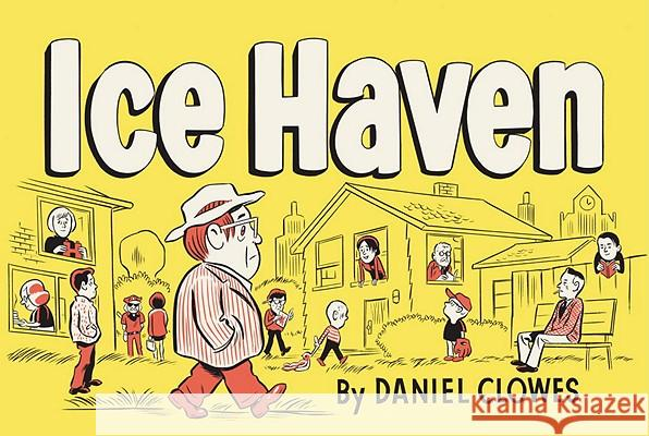 Ice Haven Daniel Clowes 9780375714696 Pantheon Books