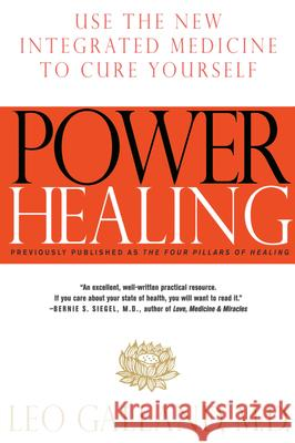 Power Healing: Use the New Integrated Medicine to Cure Yourself Leo Galland 9780375751394