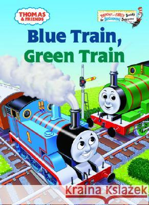 Thomas & Friends: Blue Train, Green Train (Thomas & Friends) Wilbert Vere Awdry Tommy Stubbs 9780375834639