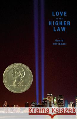 Love Is The Higher Law David Levithan 9780375834691