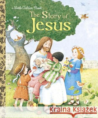 The Story of Jesus Jane Werner Watson Jerry Smath 9780375839412