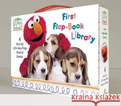 Elmo's World : First Flap-book Library Random House                             Mary Beth Nelson 9780375845123 Random House Books for Young Readers