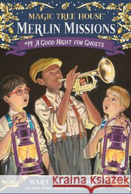 Magic Tree House #42 A Good Night For Ghosts Mary Pope Osborne Salvatore Murdocca 9780375856495