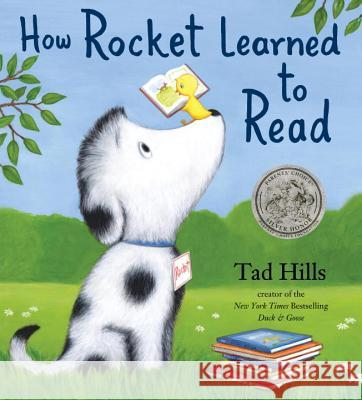 How Rocket Learned to Read Tad Hills Tad Hills 9780375858994