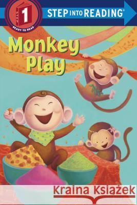 Monkey Play : Step Into Reading 1 Alyssa Satin Capucilli 9780375869938