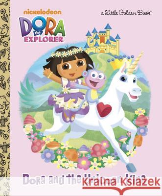 Dora and the Unicorn King Molly Reisner David Aikins 9780375872266
