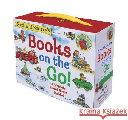 Richard Scarry's Books on the Go Richard Scarry Richard Scarry 9780375875229