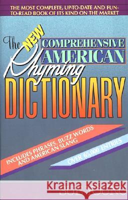 The New Comprehensive American Rhyming Dictionary Sue Young S. Young 9780380713929 Avon Books