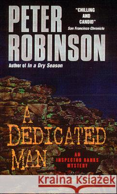 A Dedicated Man Peter Robinson 9780380716456 Avon Books