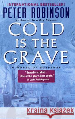 Cold Is the Grave Peter Robinson 9780380809356 Avon Books