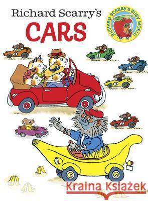 Richard Scarry's Cars Richard Scarry 9780385389266