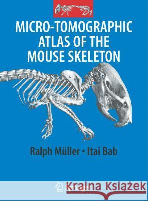 Micro-Tomographic Atlas of the Mouse Skeleton Ralph M]ller Itali Bab Ralph Muller 9780387392547