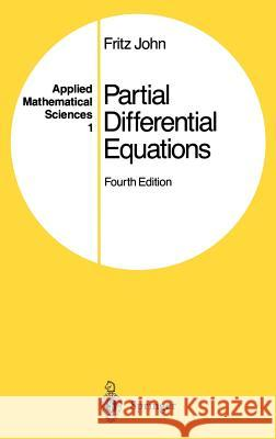 Partial Differential Equations Fritz John 9780387906096