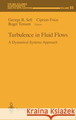 Turbulence in Fluid Flows: A Dynamical Systems Approach George R. Sell Ciprian Foias Roger Temam 9780387941134