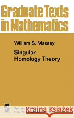 A Basic Course in Algebraic Topology W. S. Massey William S. Massey P. R. Halmos 9780387974309