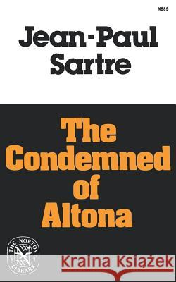 The Condemned of Altona Jean-Paul Sartre 9780393008890