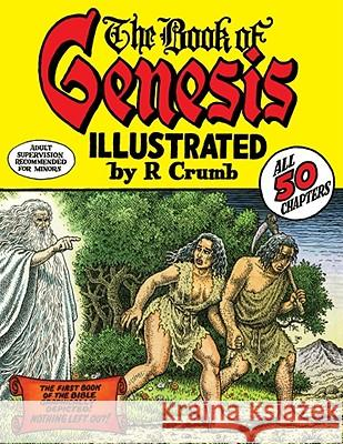 The Book of Genesis Robert Crumb R. Crumb 9780393061024 W. W. Norton & Company