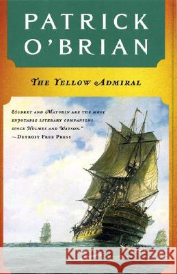 The Yellow Admiral Patrick O'Brian 9780393317046