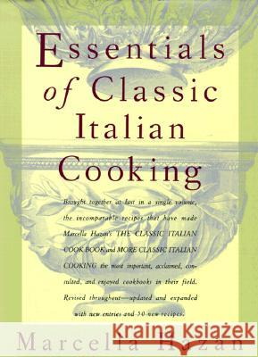Essentials of Classic Italian Cooking Marcella Hazan Karin Kretschmann 9780394584041