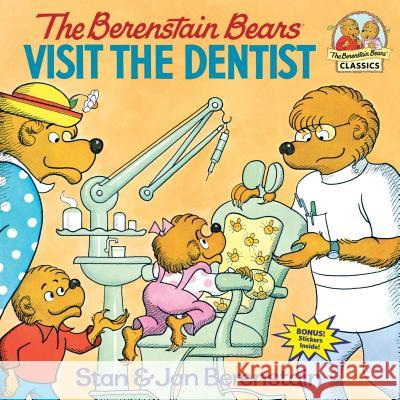 The Berenstain Bears Visit the Dentist Stan Berenstain Jan Berenstain Jan Berenstain 9780394848365