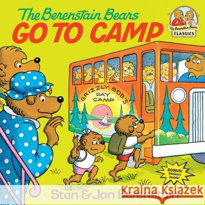 The Berenstain Bears Go to Camp Stan Berenstain Jan Berenstain 9780394851310