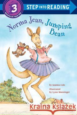 Norma Jean Jumping Bean Step Into Reading Lvl 3 Joanna Cole Lynn M. Munsinger 9780394886688