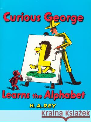 Curious George Learns the Alphabet H. A. Rey 9780395137185