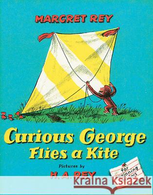 Curious George Flies a Kite Margret Rey H. A. Rey 9780395259375