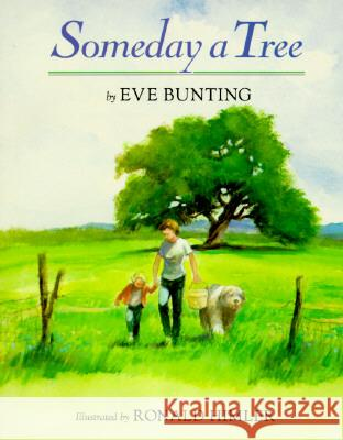 Someday a Tree Eve Bunting Ronald Himler 9780395764787 Clarion Books