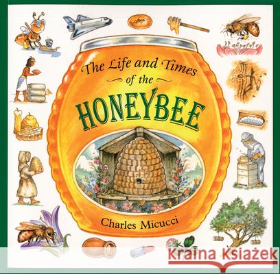 The Life and Times of the Honeybee Charles Micucci 9780395861394 Houghton Mifflin Company