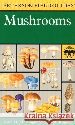 A Peterson Field Guide to Mushrooms: North America Roger Tory Peterson Mariner Books                            Kent H. McKnight 9780395910900