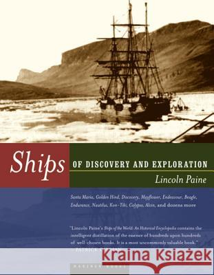 Ships of Discovery and Exploration Lincoln P. Paine 9780395984154