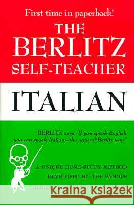 Italian Berlitz Schools of Languages of America 9780399513251
