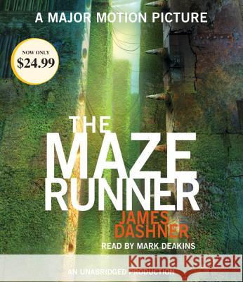 The Maze Runner (Maze Runner, Book One) - audiobook James Dashner Mark Deakins 9780399567056