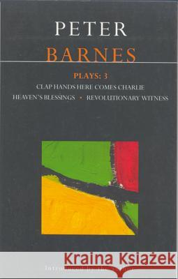 Barnes Plays Peter Barnes 9780413699800