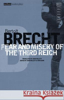 Fear and Misery in the Third Reich Bertolt Brecht 9780413772664