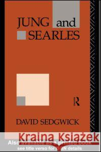 Jung and Searles David Sedgwick Sedgwick David 9780415096980