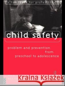 Child Safety: Problem and Prevention from Pre-School to Adolescence: A Handbook for Professionals Bill Gilham Bill Gillham James A. Thomson 9780415124775