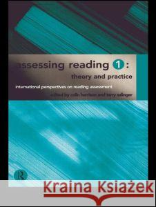 Assessing Reading 1: Theory and Practice Colin Harrison Terry Salinger 9780415148948