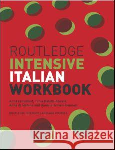 Routledge Intensive Italian Workbook Anna Proudfoot 9780415240796