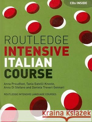 Routledge Intensive Italian Course - audiobook Anna Proudfoot Tania Batelli-Kneale Anna D 9780415240819